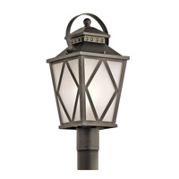 Kichler Hayman Bay 1 Light Outdoor Post Lantern in Olde Bronze 49295OZ