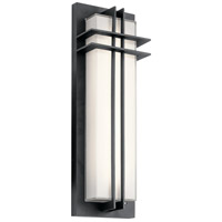 Kichler 49298BKTLED Manhattan LED 22 inch Textured Black Outdoor Wall Light, Medium