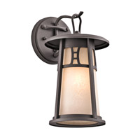 Kichler Lighting Oak Bluffs 1 Light Outdoor Wall Lantern in Textured Architectural Bronze 49300AZT
