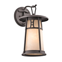 Kichler Lighting Oak Bluffs 1 Light Outdoor Wall Lantern in Textured Architectural Bronze 49301AZT