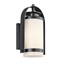 Kichler Lighting Westport 1 Light Outdoor Wall Lantern in Black 49314BK photo thumbnail