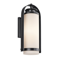 Kichler Lighting Westport 1 Light Outdoor Wall Lantern in Black (Painted) 49315BK