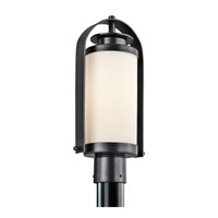Kichler Lighting Westport 1 Light Outdoor Post Lantern in Black (Painted) 49317BK