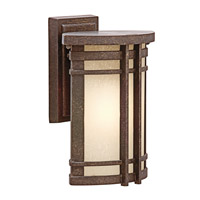 Kichler Lighting Crosett 1 Light Outdoor Wall Lantern in Aged Bronze 49319AGZ photo thumbnail