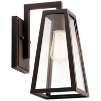 Kichler 49330RZ Delison 1 Light 12 inch Rubbed Bronze Outdoor Wall Light