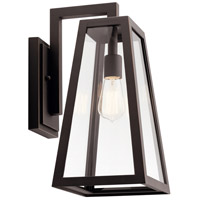 Kichler 49332RZ Delison 1 Light 17 inch Rubbed Bronze Outdoor Wall Light