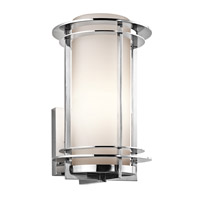 Kichler 49345PSS316 Pacific Edge 1 Light 13 inch Polished Stainless Steel Outdoor Wall Lantern in Standard