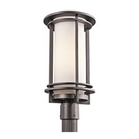 Kichler Lighting Pacific Edge 1 Light Outdoor Post Lantern in Architectural Bronze 49349AZ
