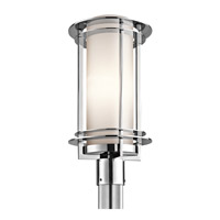 Kichler 49349PSS316 Pacific Edge 1 Light 19 inch Polished Stainless Steel Outdoor Post Lantern photo thumbnail