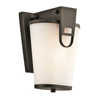 Kichler Lighting Coturri 1 Light Outdoor Wall Lantern in Olde Bronze 49350OZ photo thumbnail