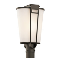 Kichler Lighting Coturri 1 Light Outdoor Post Lantern in Olde Bronze 49355OZ photo thumbnail