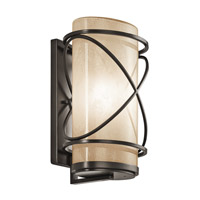 Kichler Lighting Trafari 1 Light XLarge Outdoor Wall Lantern in Architectural Bronze 49358AZ photo thumbnail