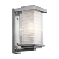Kichler Lighting Ascari 1 Light Medium Outdoor Wall Lantern in Platinum 49366PL photo thumbnail