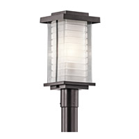 Kichler Lighting Ascari 1 Light Post Lantern in Architectural Bronze 49367AZ photo thumbnail
