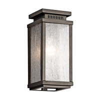 Manningham 1 Light 11 inch Olde Bronze Outdoor Wall - Small