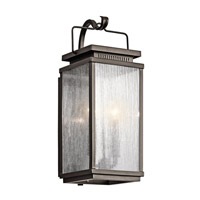 Kichler 49385OZ Manningham 2 Light 19 inch Olde Bronze Outdoor Wall - Medium