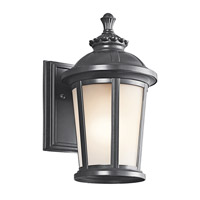 Kichler Lighting Ralston 1 Light Outdoor Wall Lantern in Black 49409BK