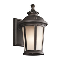 Kichler 49409RZ Ralston 1 Light 11 inch Rubbed Bronze Outdoor Wall Lantern