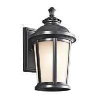 Kichler Lighting Ralston 1 Light Outdoor Wall Lantern in Black 49410BK