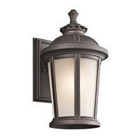 Kichler Lighting Ralston 1 Light Outdoor Wall Lantern in Rubbed Bronze 49410RZ photo thumbnail