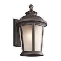 Kichler 49411RZ Ralston 1 Light 17 inch Rubbed Bronze Outdoor Wall Lantern