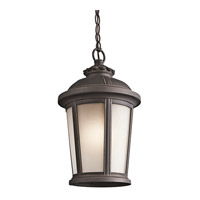 Ralston 1 Light 10 inch Rubbed Bronze Outdoor Pendant