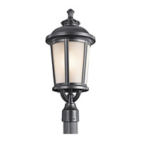 Kichler Lighting Ralston 1 Light Outdoor Post Lantern in Black 49413BK
