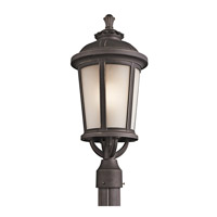 Kichler Lighting Ralston 1 Light Outdoor Post Lantern in Rubbed Bronze 49413RZ