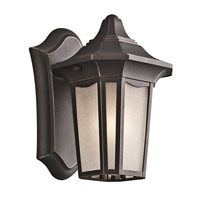 Kichler Lighting Nob Hill 1 Light Outdoor Wall Lantern in Rubbed Bronze 49415RZ