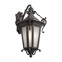 Kichler Lighting Nob Hill 1 Light Outdoor Wall Lantern in Rubbed Bronze 49420RZ