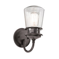 Kichler Lighting Lyndon 1 Light Small Outdoor Wall Lantern in Architectural Bronze 49444AZ