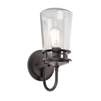 Kichler Lighting Lyndon 1 Light Small Outdoor Wall Lantern in Architectural Bronze 49445AZ