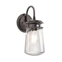 Kichler Lighting Lyndon 1 Light Small Outdoor Wall Lantern in Architectural Bronze 49445AZ photo thumbnail