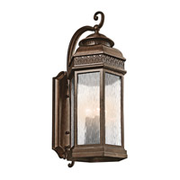 Kichler Lighting Tolland 4 Light Outdoor Wall Lantern in Brushed Bronze 49464BRZ