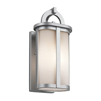 Kichler Rivera 1 Light Outdoor Wall - Small in Platinum 49468PL
