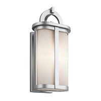 Kichler Rivera 1 Light Outdoor Wall - Medium in Platinum 49469PL