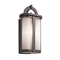 Kichler Rivera 1 Light Outdoor Wall - Xlarge in Architectural Bronze 49470AZ