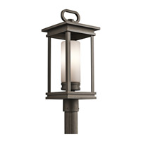 South Hope 1 Light 22 inch Rubbed Bronze Outdoor Post Lantern