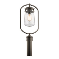 Kichler 49497AZ Lyndon 1 Light 20 inch Architectural Bronze Post Lantern