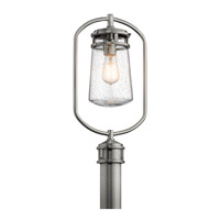 Kichler 49497BA Lyndon 1 Light 20 inch Brushed Aluminum Post Lantern