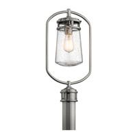 Kichler 49497BA Lyndon 1 Light 20 inch Brushed Aluminum Post Lantern