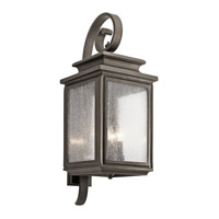 Kichler 49504OZ Wiscombe Park 4 Light 31 inch Olde Bronze Xlarge Outdoor Wall