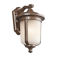 Kichler Lighting Gadsden 1 Light Outdoor Wall Lantern in Brown Stone 49508BST
