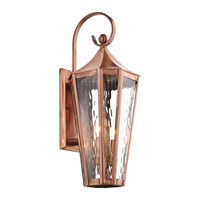 Kichler Rochdale 2 Light Outdoor Wall - Large in Antique Copper 49513ACO