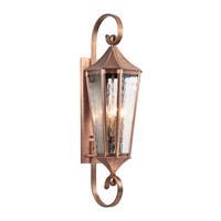 Kichler Rochdale 4 Light Outdoor Wall - Xlarge in Antique Copper 49514ACO photo thumbnail