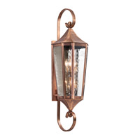 Kichler 49515ACO Rochdale 6 Light 47 inch Antique Copper Outdoor Wall - Xlarge