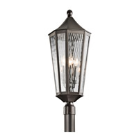 Kichler Rochdale 4 Light Outdoor Post Lantern in Olde Bronze 49516OZ
