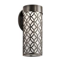 Kichler 49520AZTLED Cidney 13 inch Textured Architectural Bronze Outdoor Wall Light