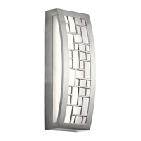 Margeaux 2 Light 16 inch Brushed Aluminum Outdoor Wall Light