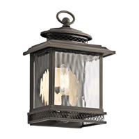 Kichler Pettiford 1 Light Outdoor Wall in Olde Bronze 49540OZ